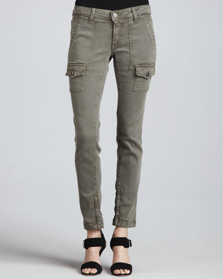 Joie So Real Skinny Fatigue Jeans