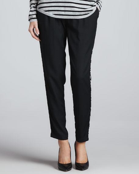 Sayla Printed-Side Pants