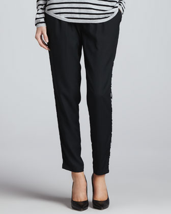 Sayla Printed-Side Pants