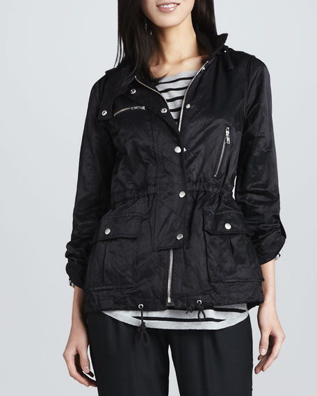 Barker Nylon Zipper Jacket