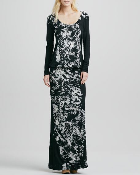 Gloria Long-Sleeve Maxi Dress
