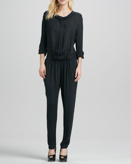 Hamlet Button-Up Jumpsuit