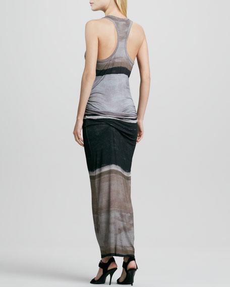 Hamptons Dye-Striped Maxi Dress