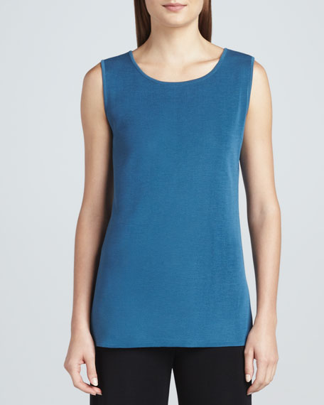 Sleeveless Knit Tank, Women's