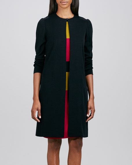 One-Button Long Topper