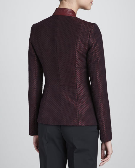 Faceted Jacquard Clemte Jacket