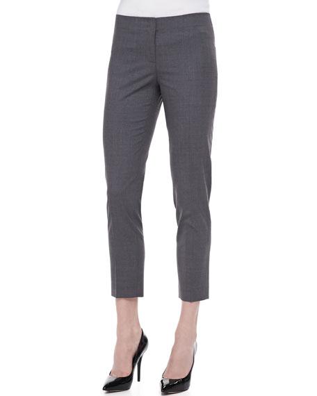 Basic Skinny Cropped Pants