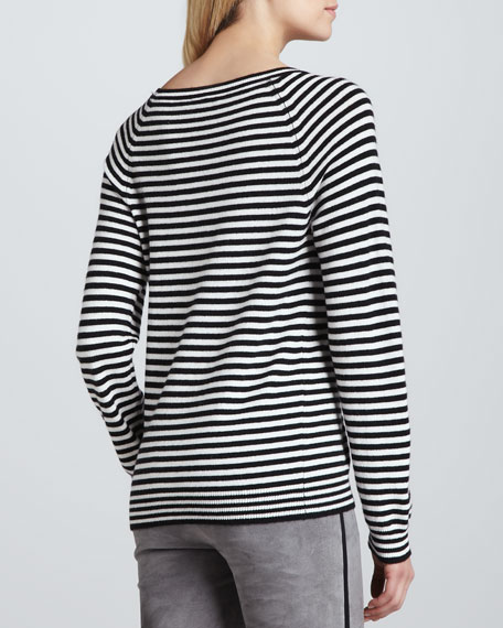 Bronx Striped Knit Sweater
