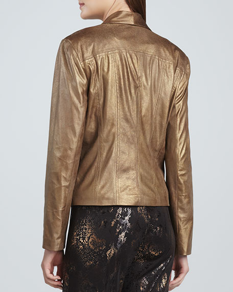 Moonraker Faux-Leather Jacket