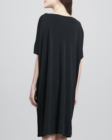 Beonica Draped Matte Jersey Dress