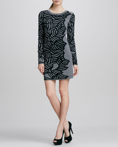 Farley Printed Knit Dress