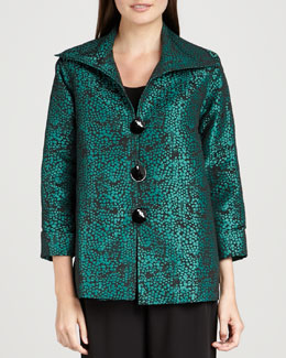 Caroline Rose Pebble Jacquard Jacket, Women's