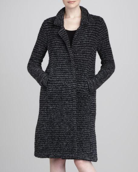 Midi Lightweight Knit Coat