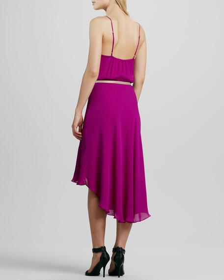 Belted Hi-Lo Dress