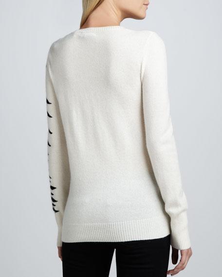 Tiger Intarsia Cashmere Sweater