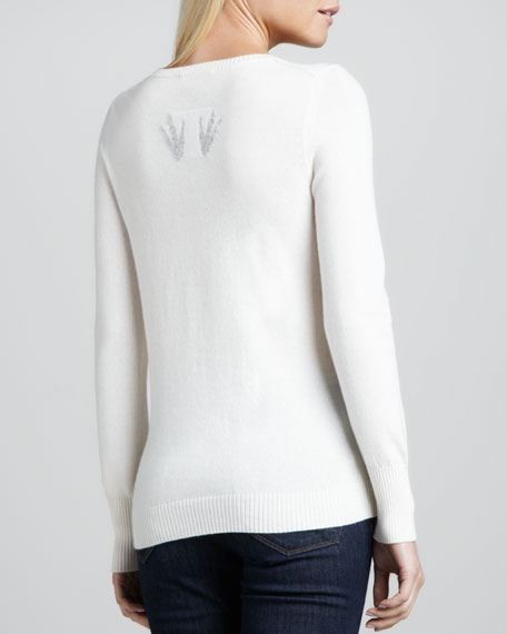 Penguin Intarsia Cashmere Sweater