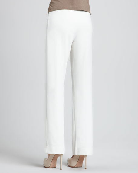 Ponte Boot-Cut Pants