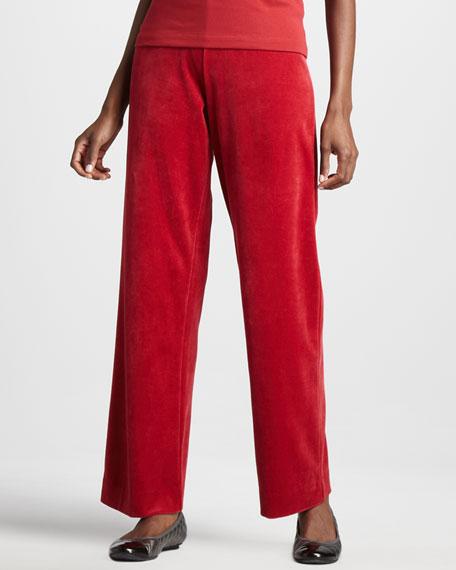 Velour Pants, Women's
