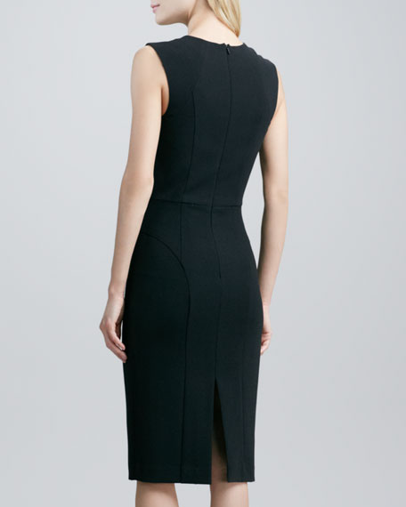 Cicero Sheath Dress with Cutouts