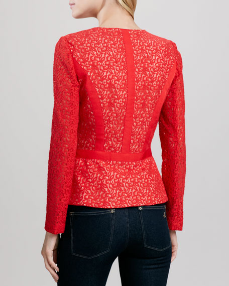 Lenore Lace Fit-and-Flare Jacket