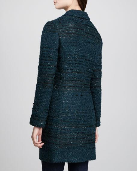 Keegan Long Tweed Jacket