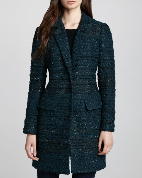 Keegan Long Tweed Jacket