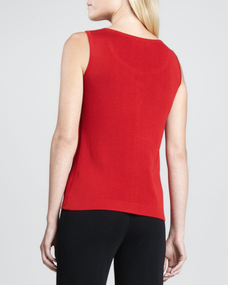 Cathy Scoop-Neck Tank