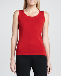 Misook Cathy Scoop-Neck Tank