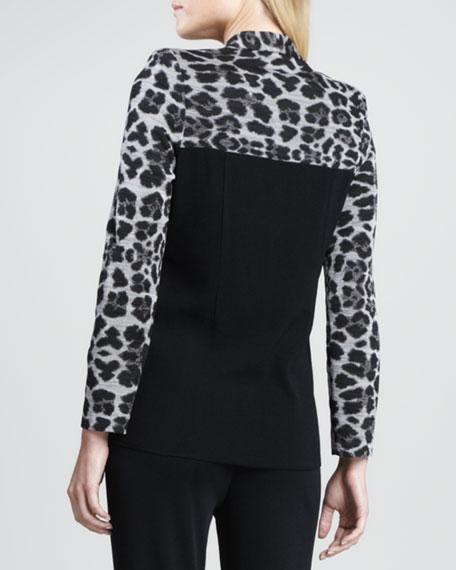 Animal-Mix Printed Jacket