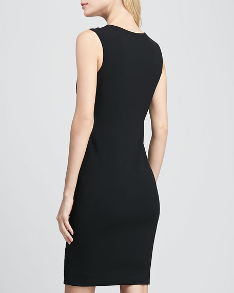 Hadya Jacquard Sheath Dress