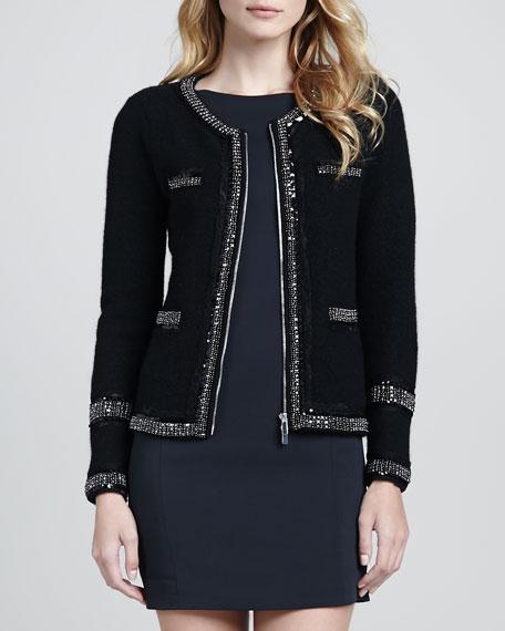 Aspen Zip-Front Sweater