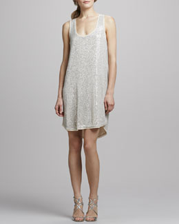 Diane von Furstenberg Pellina Sequined Tank Dress