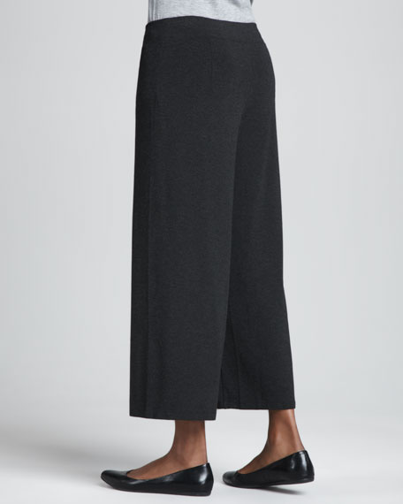CLSSC WIDE LEG CROPPED PANT