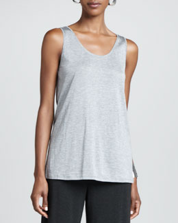 Eileen Fisher Organic-Cotton Slim Tank, Women's