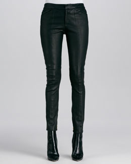 A.L.C. Misa Leather Skinny Pants