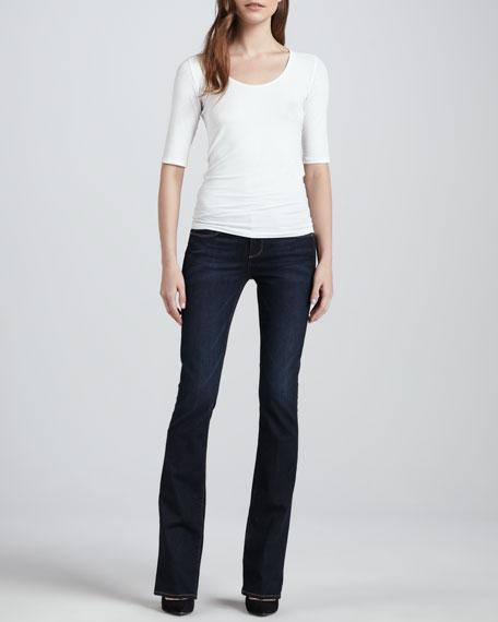 Manhattan Surface Boot-Cut Jeans