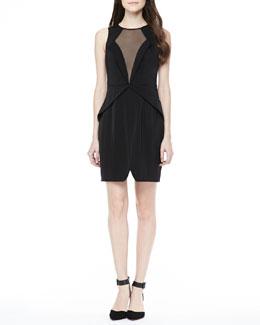 Keepsake Lone Ranger Mesh-Front Dress