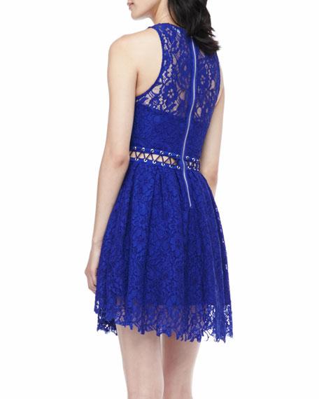 Bloc Party Stitched-Waist Dress