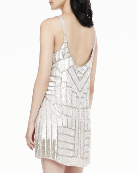 Hayden Sleeveless Sequined Dress