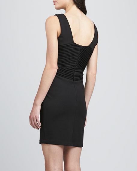 Claudia Ribbed Cutout Dress