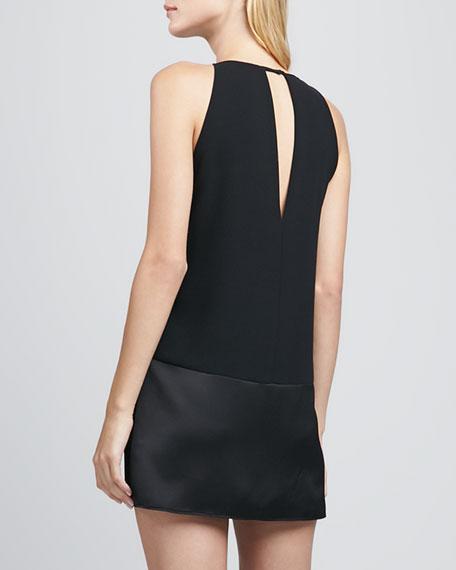 Stacey Paneled Keyhole Dress