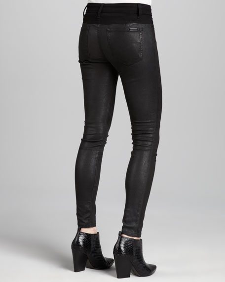 Rosabelle Leather Moto Pants
