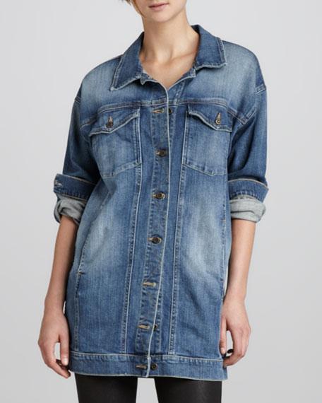 Vintage Reserve Denim Dress Jacket