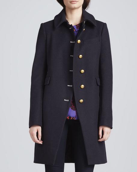 Nicoletta Military-Style Jacket