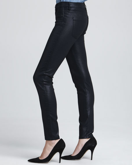 Pocket Pleaser Coated Jeans