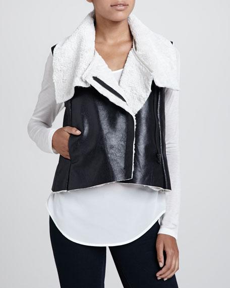 Miku Faux-Shearling Vest