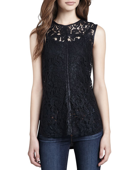 Brideswell Lace-Front Tank