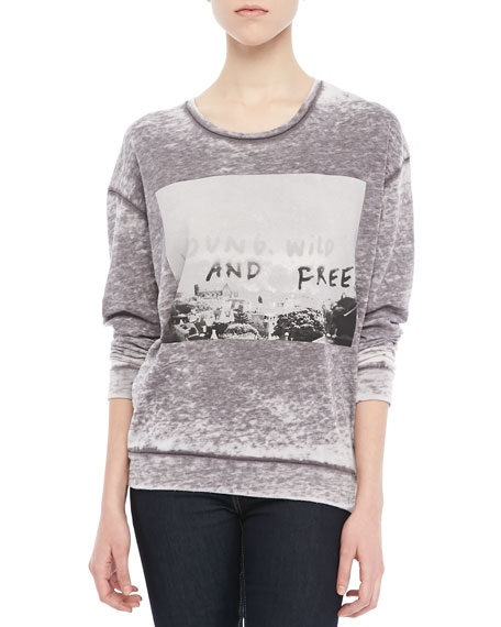 Young, Wild and Free Sweatshirt