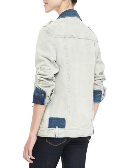 Washed Indigo Denim Jacket