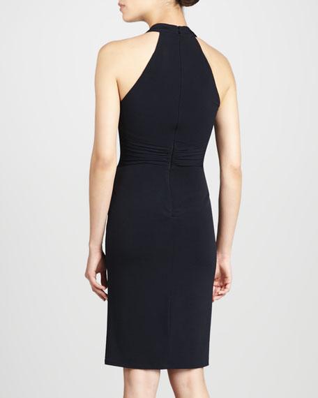Bead-Waist Cocktail Dress